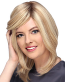 Nicole Wig By Estetica - Lace Front Remy Human Hair Wig w/ 100% Hand-Tied Mono Top
