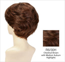 Sabrina Wig By Estetica - Short Remy Human Hair Wig w/ 100% Hand-Tied Mono Top