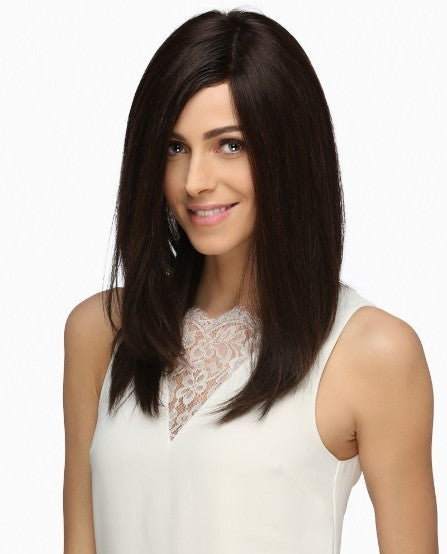 Venus Wig By Estetica - Long Layered Remy Human Hair Wig w/ 100% Hand-Tied Mono Top