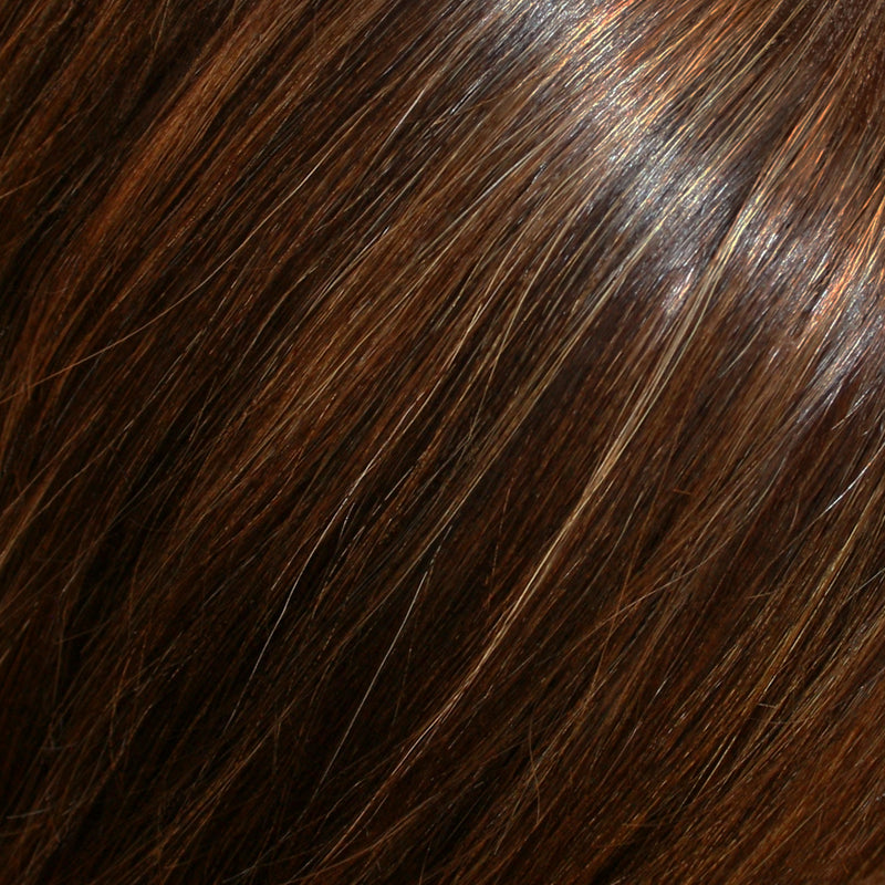 "Top Form 12"" Exclusive Colors Human Hair Topper by Jon Renau 