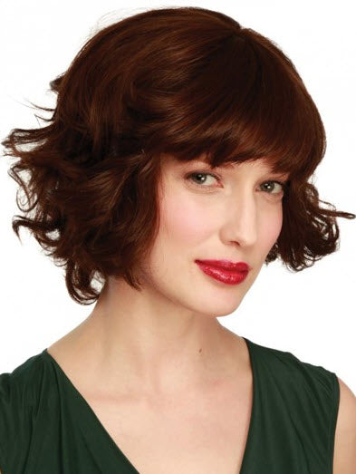 House of European Hair Megan Wig - 100% Virgin Human Hair Mono Top Medium Length Wig