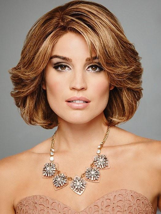 Raquel Welch The Art of Chic Wig - Remy Human Hair Hand-Knotted Lace Front Wig