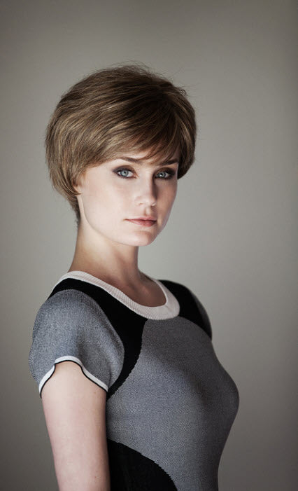 Dimples Hope Wig (Average) - Remy Human Hair Short Pixie Style Lace Front Wig