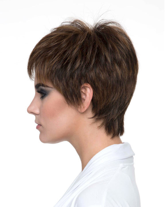 Envy Destiny Wig - Classic Pixie Cut Human Hair/Synthetic Blend