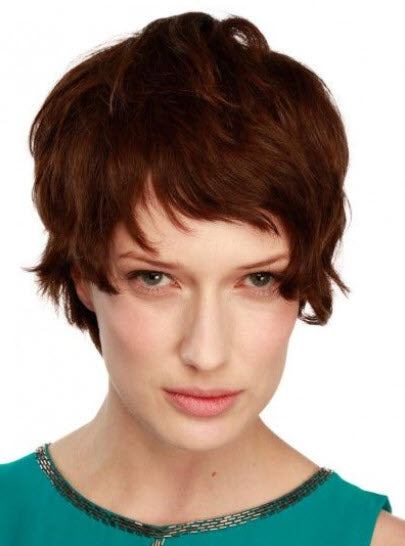 House of European Hair Kellie Wig - 100% Virgin Human Hair Mono Top Short Length Wig