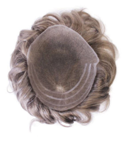 Tony Men's Wig From House of European Hair - 100% Virgin European Hair Men's Piece with Full Swiss Lace Top