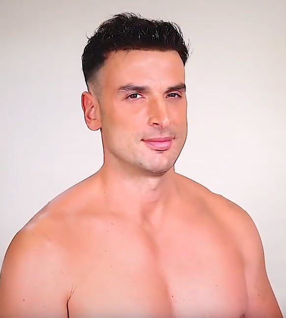 Viktor Men's Piece From House of European Hair - 100% Virgin European Hair with Swiss Lace Front & Top