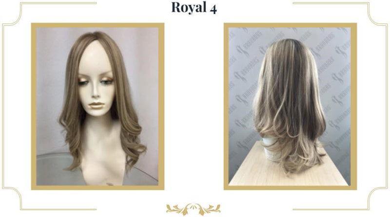 "Jacquelyn Royal 4 Wig - 18"" European Human Hair Wig"