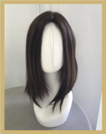 Jacquelyn Royal 2 Wig - Just Past Shoulder Length European Human Hair Wig