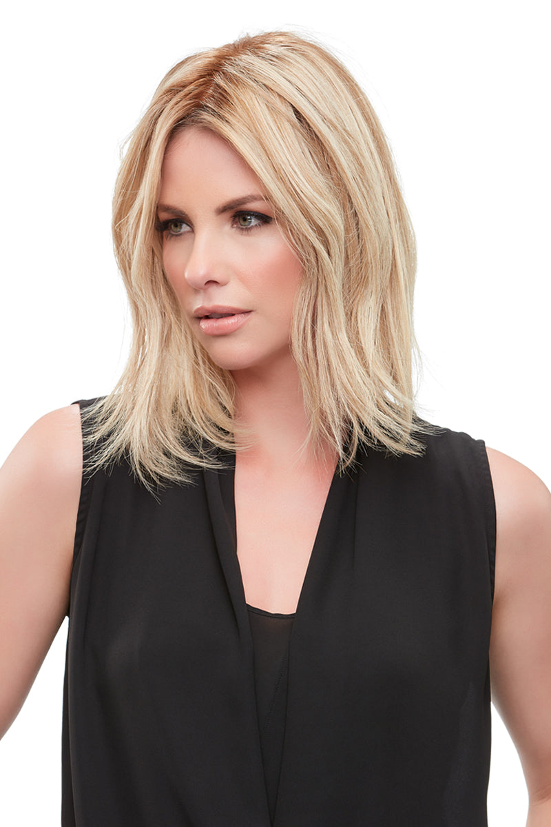 "Top Form French 12"" Human Hair Topper by Jon Renau 