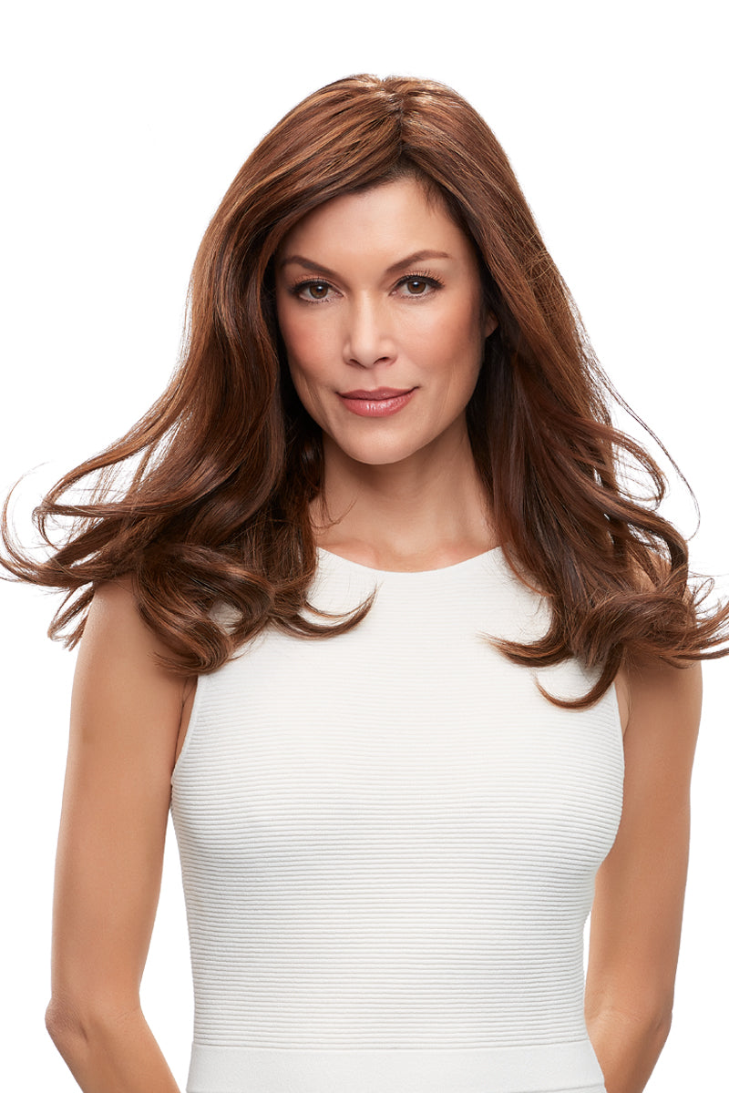 "Top Form French 18"" Human Hair Topper by Jon Renau 