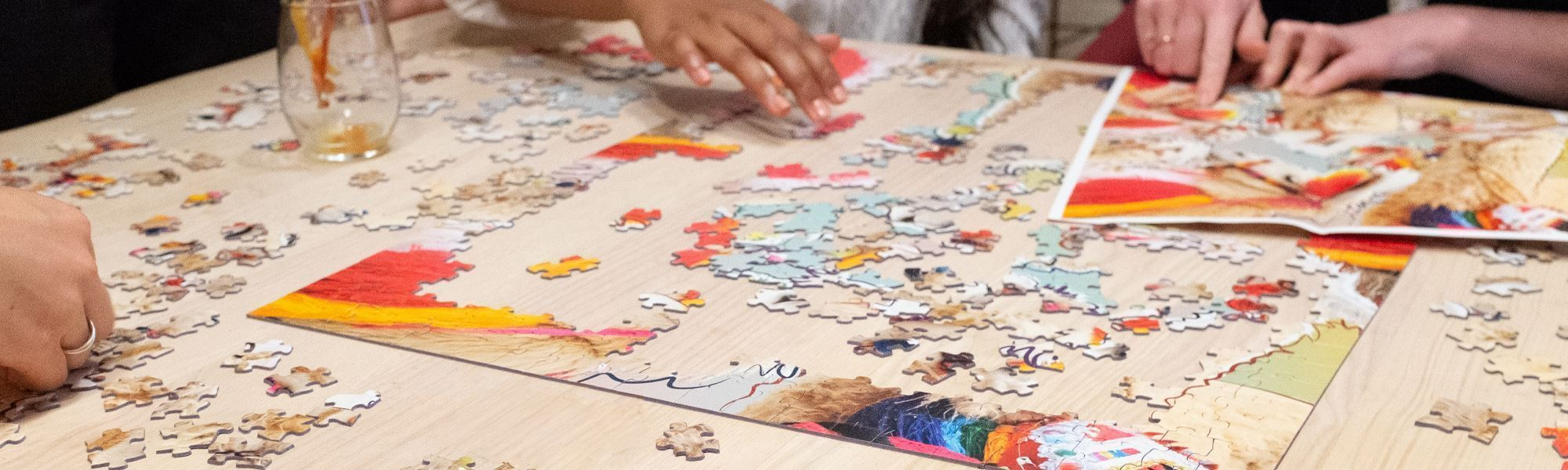 How To Host A Jigsaw Puzzle Party For Grownups