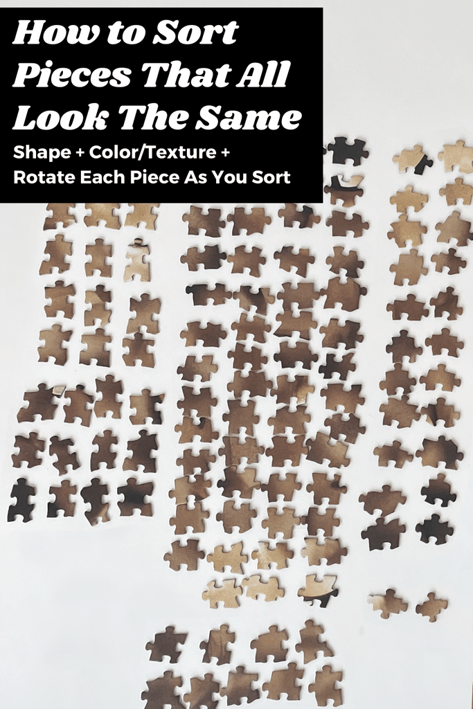 How to solve hard jigsaw puzzles