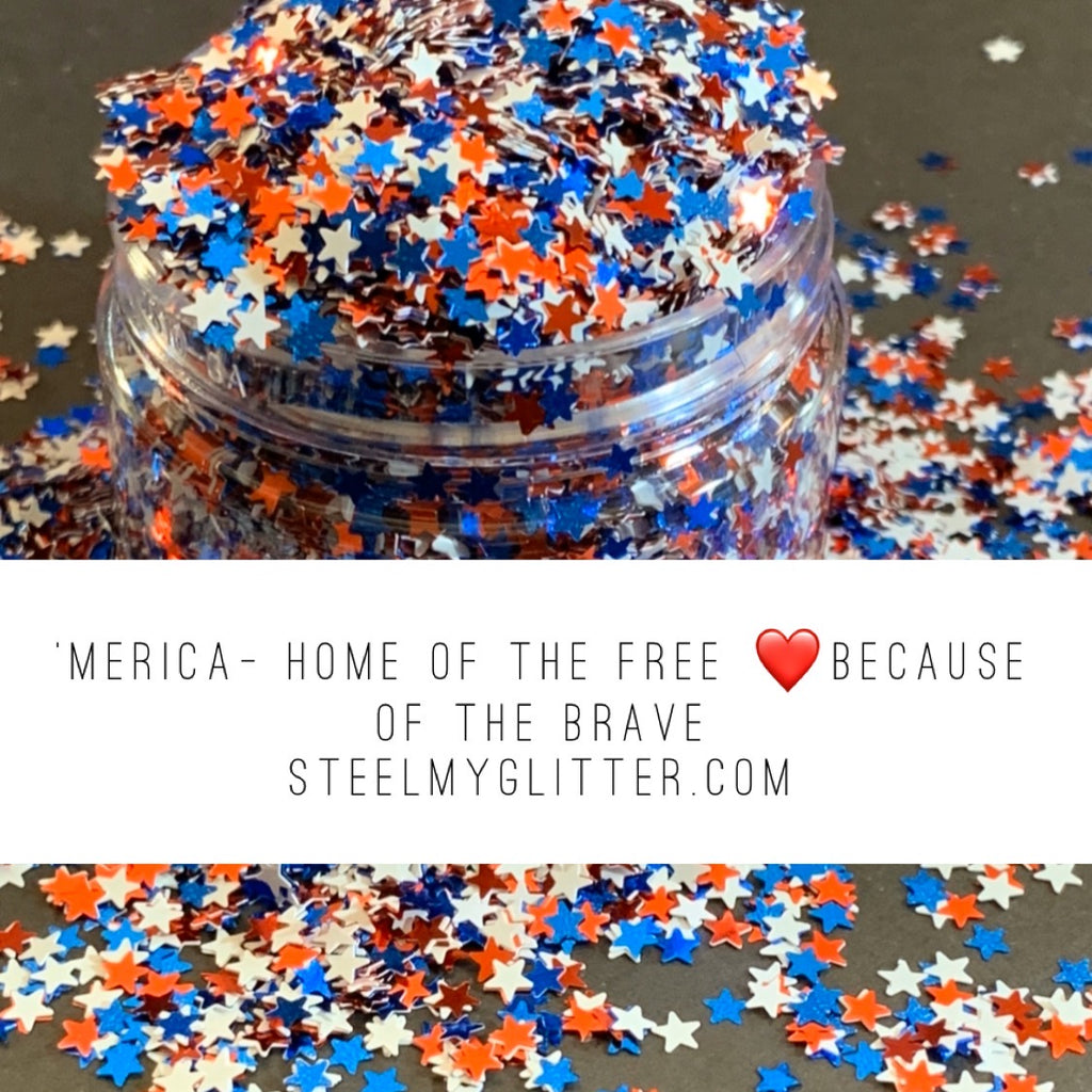 'MERICA-HOME OF THE FREE BECAUSE OF THE BRAVE