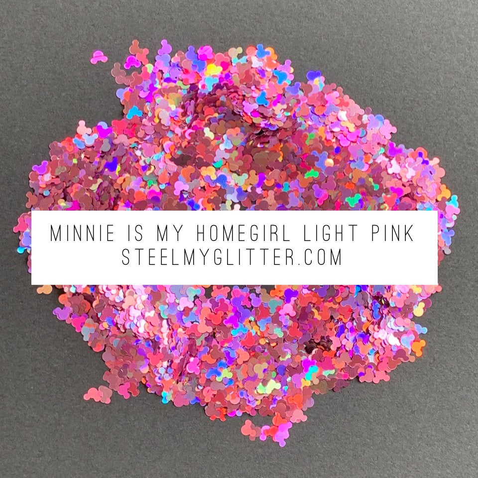 MINNIE IS MY HOMEGIRL LIGHT PINK
