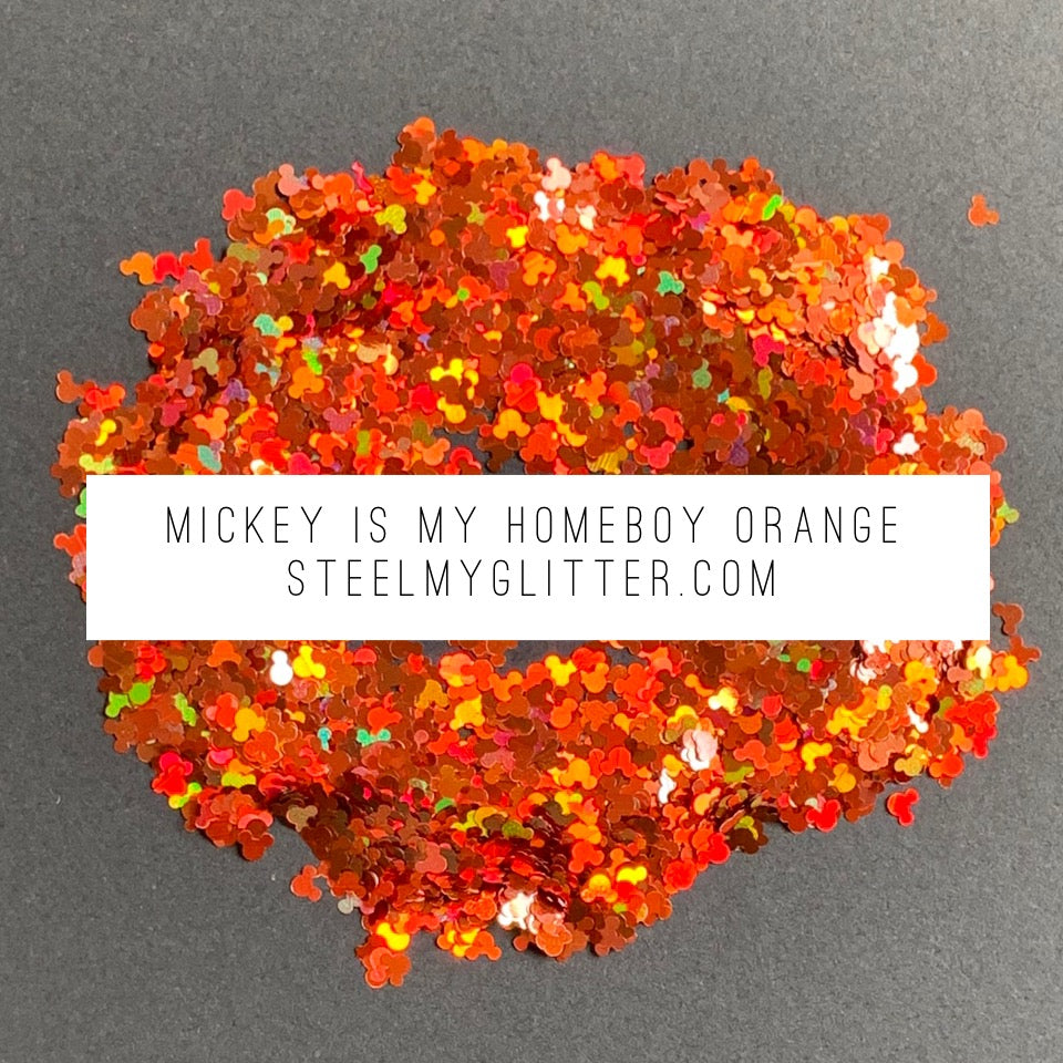 MICKEY IS MY HOMEBOY ORANGE
