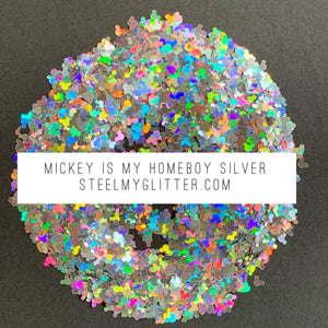 MICKEY IS MY HOMEBOY SILVER
