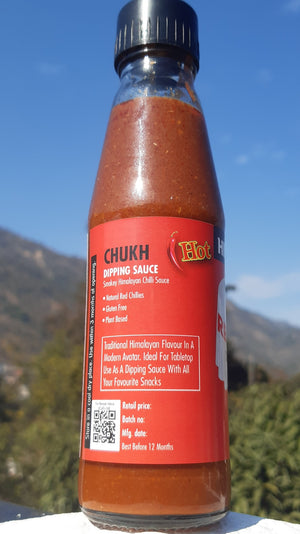 Indian Hot Sauce, Smokey Hot Sauce, Red Chilli Sauce