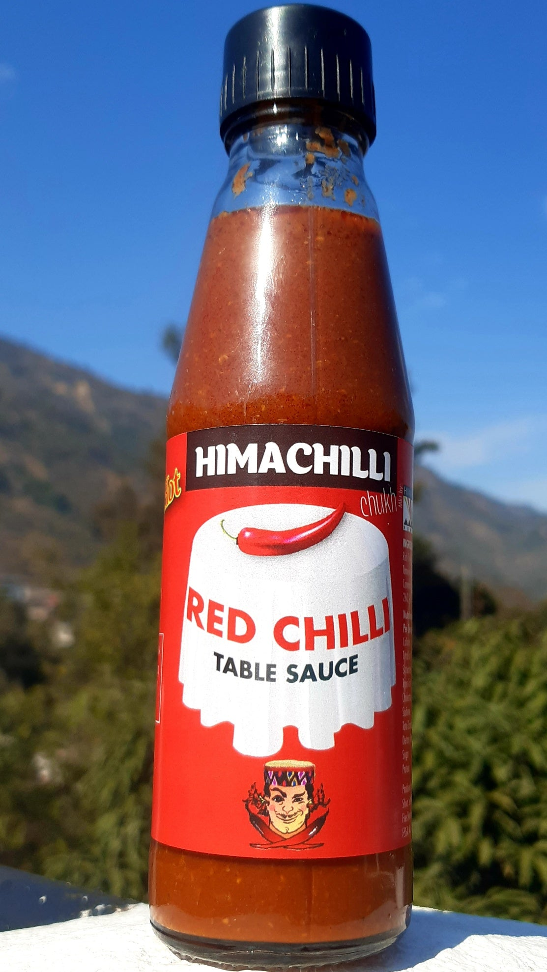 Himachilli. Red Chilli Sauce. Hot Sauce, Indian Spices, Smokey Chilli Sauce
