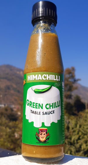 Himachilli, Green Chilli Sauce, Citrus Chilli, Hot Sauce, Chilli Sauce