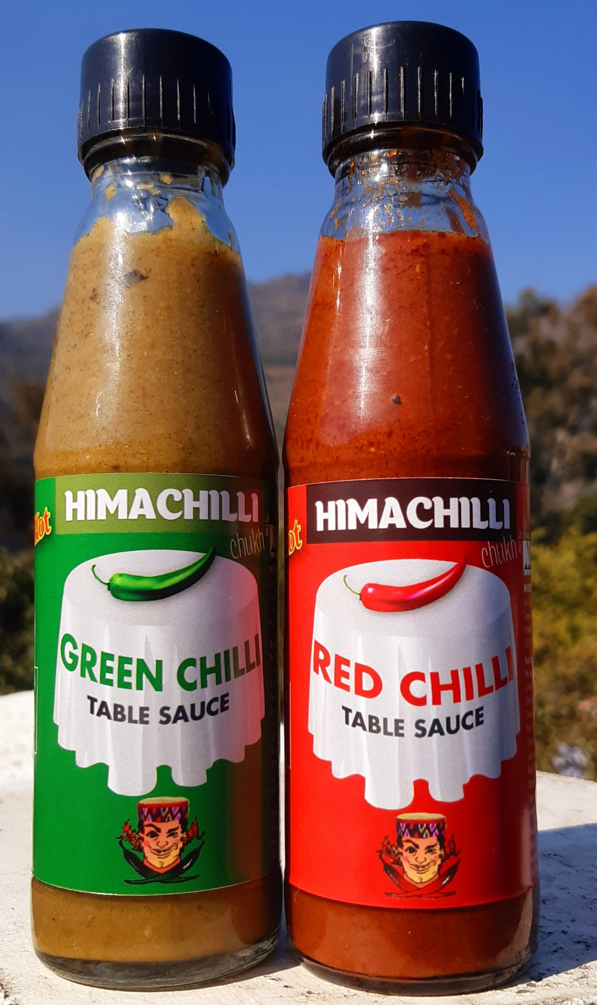 Himachilli, Hot sauce, Red Chilli, Green Chilli, Very Hot