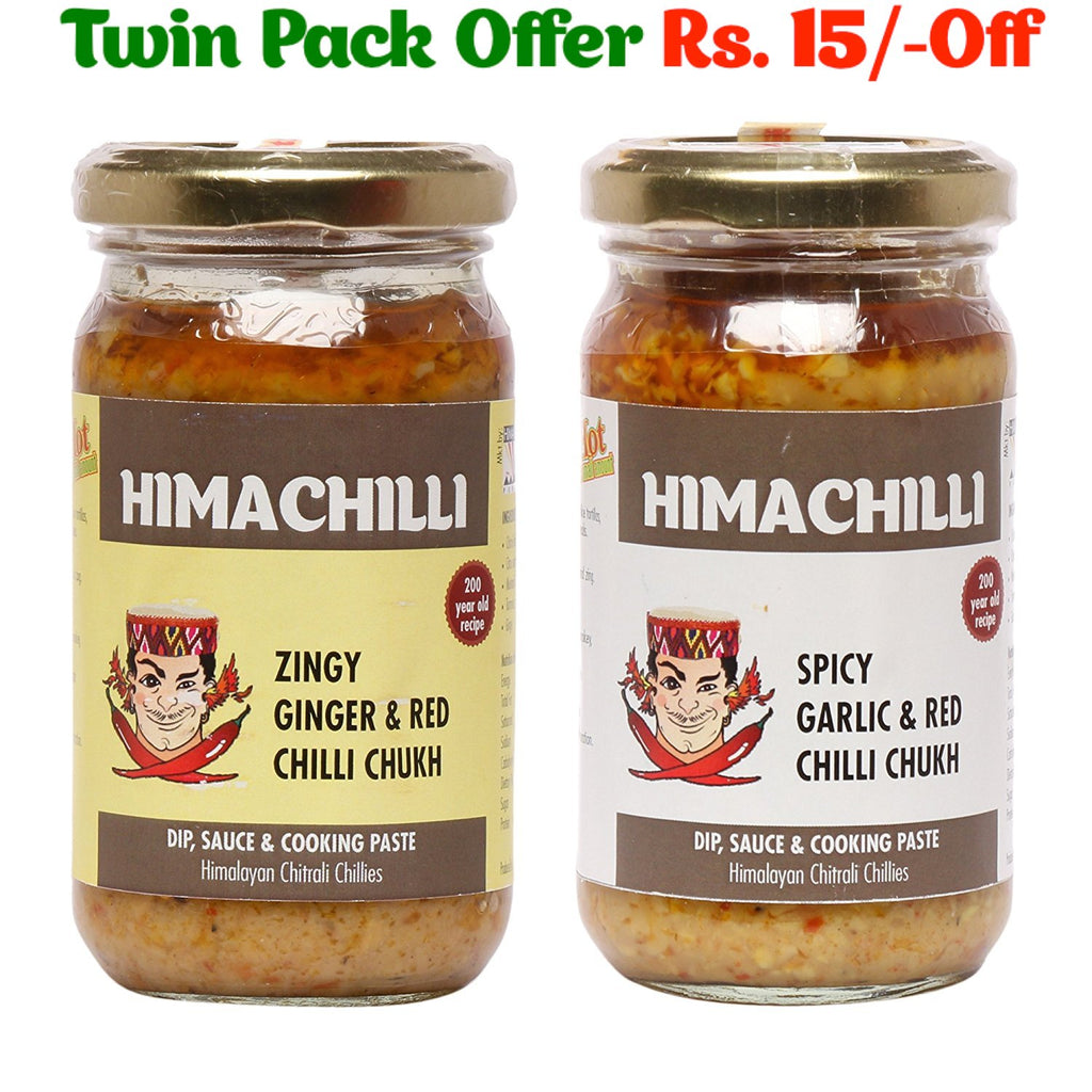 *SAVER*  ZINGY GINGER & SPICY GARLIC HIMACHILLI (2*200 gms)