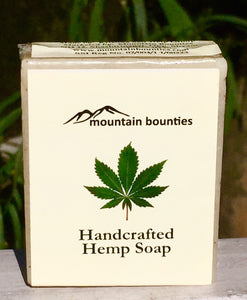 Handcrafted Herbal Hemp Soap