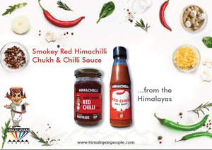 Himachilli Smokey Red Chukh & Hot Sauce Set