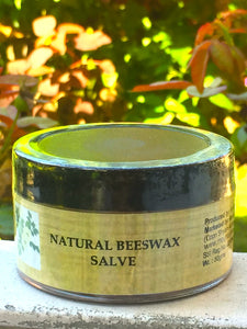 Natural Beeswax Salve