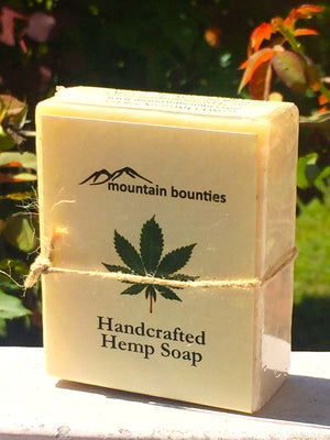 Hemp Soap, 100% Handmade, Cold Pressed, herbal soap, cold pressed, Handmade, 100% Natural, Moisturising for face, hands and hair, Recommended for prematurely aged skin, sensitive, inflamed and dry skin. Cold pressed, 100% natural, handmade, Natural Skin Care, Natural oils, Skin Care, Himachal Oils, Himalayan Salt, Mountain Bounties, Himalayan people Care