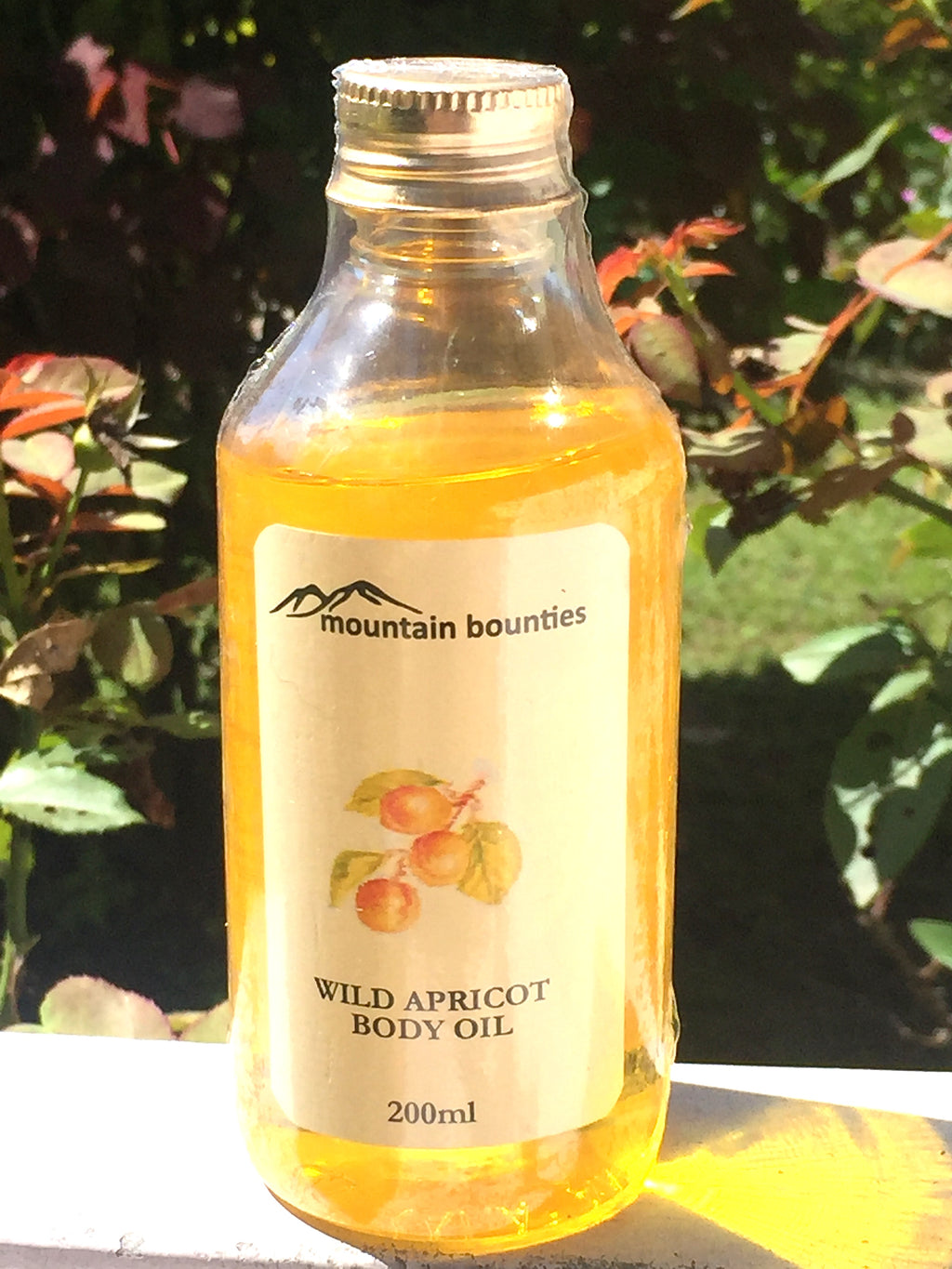 Wild Apricot Body Oil, 100% natural, handmade