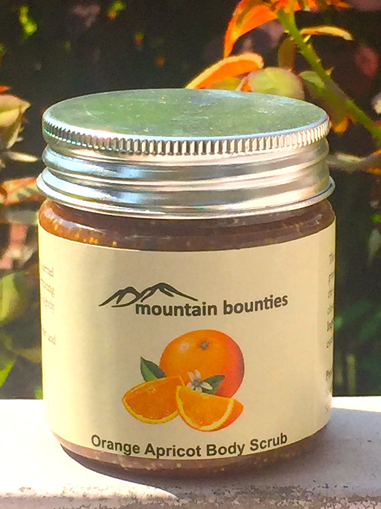 Orange And Apricot Face Scrub