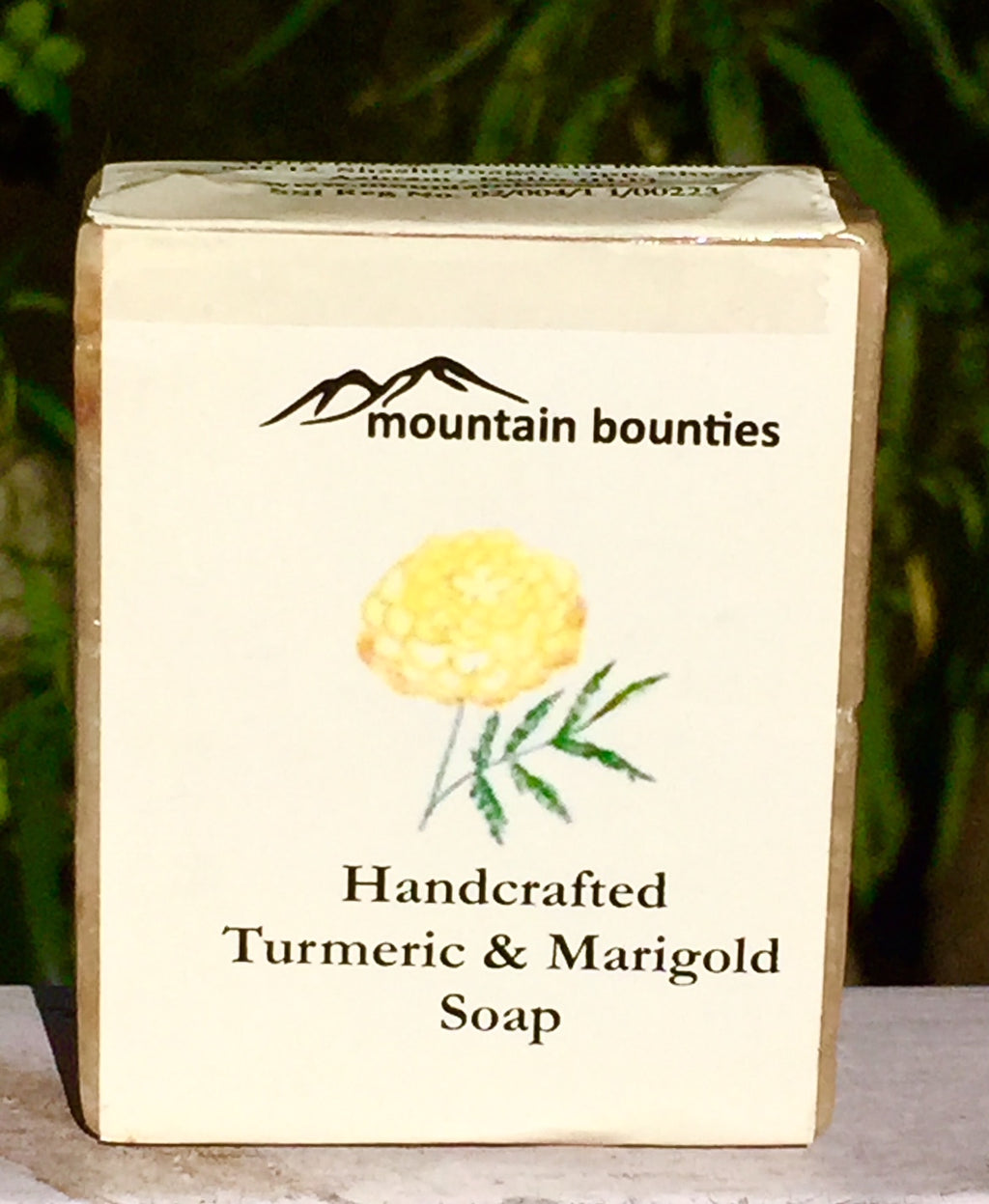 Handcrafted Turmeric & Marigold Soap