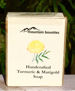 Turmeric & Marigold Soap, handmade cold pressed, 100% natural