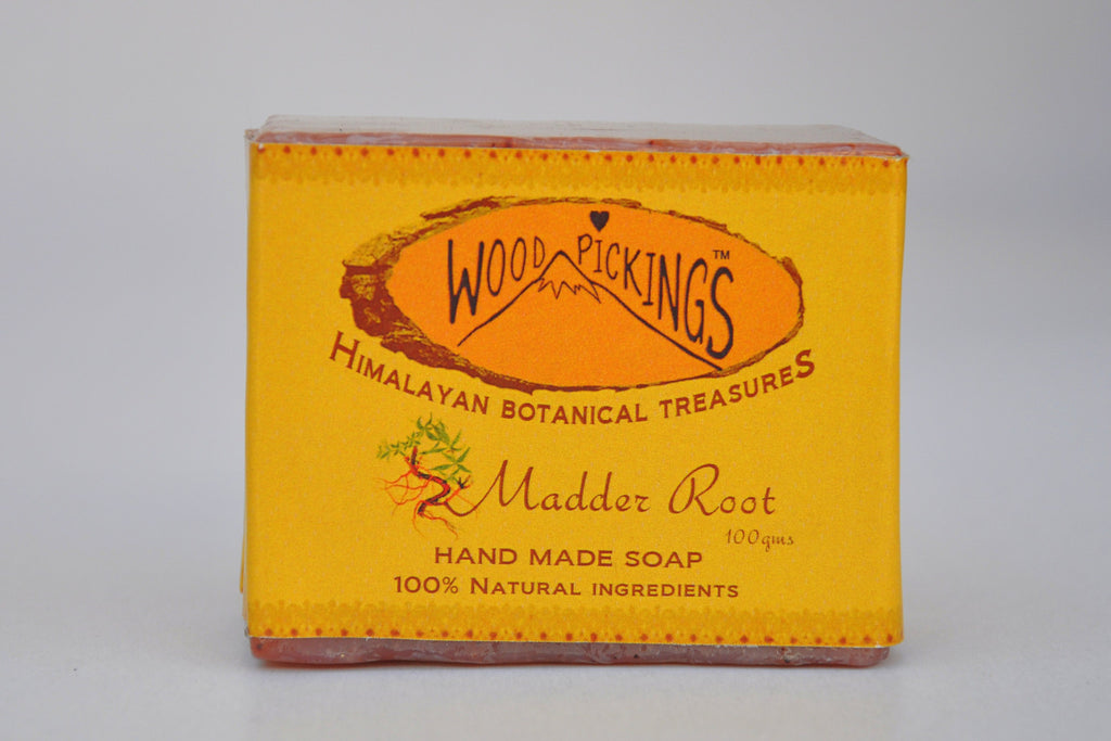 Madder Root Herbal Soap