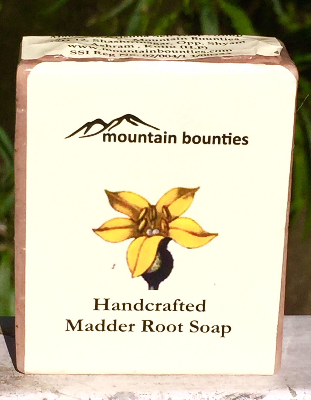 Handcrafted Madder Root Soap