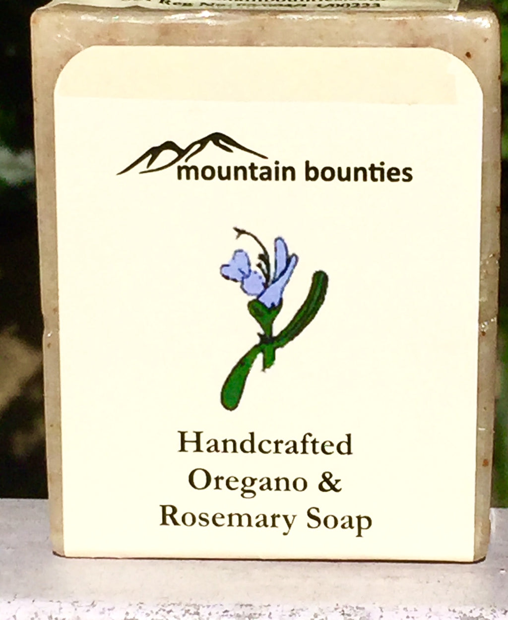 Oregano & rosemary Soap, 100% natural, Handmade Soaps