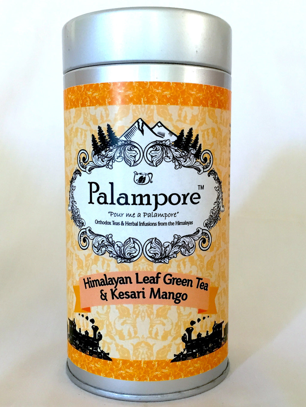 PALAMPORE- Himalayan Long Leaf Green Tea & Kesari Mango