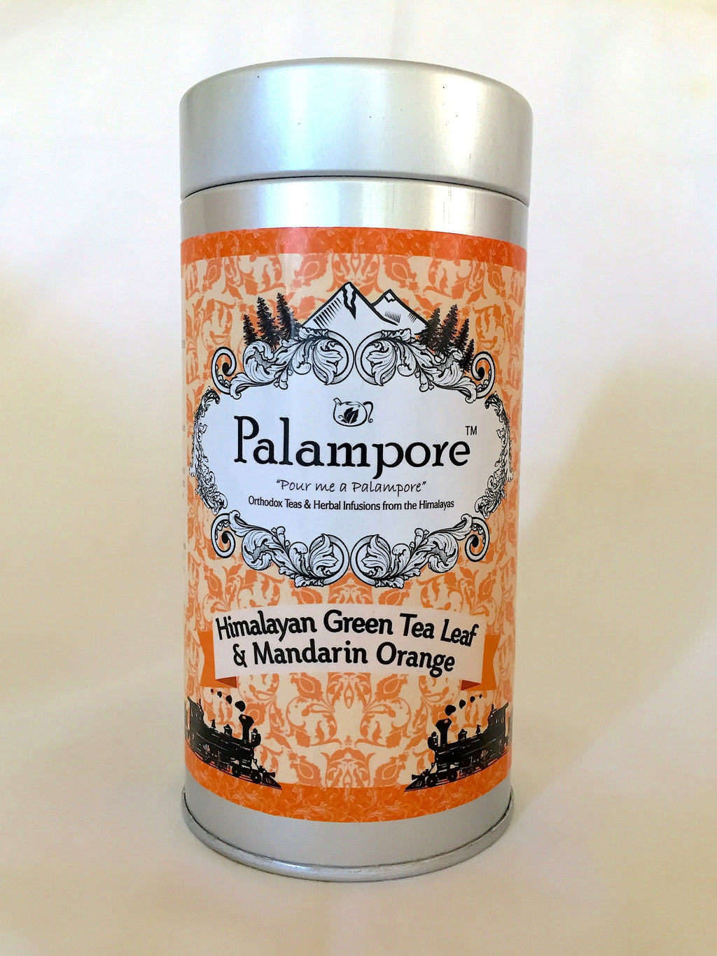 PALAMPORE- Himalayan Long Leaf Green Tea & Mandarin Orange
