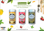 Palampore Green Tea & Herbals Set