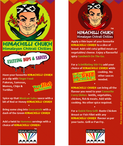 Himachilli Chukh Ginger & Sundried Red Chilli Flavour (Coming Soon)