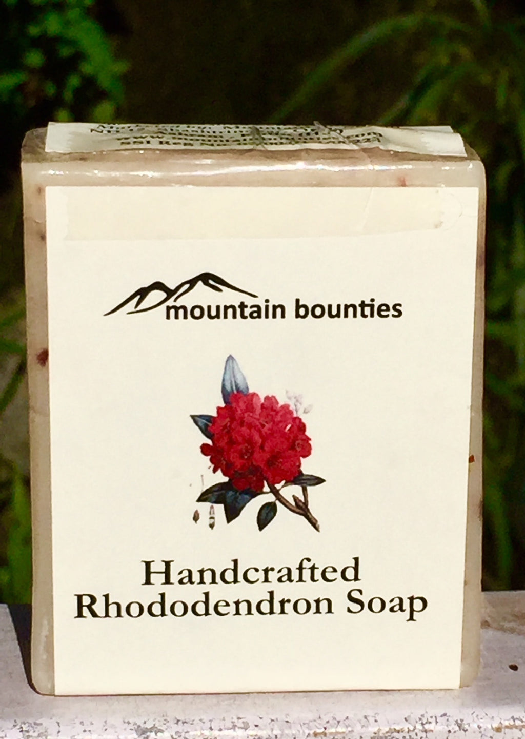 Handcrafted Rhododendron Soap