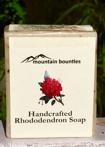 Handmade Rhododendron Soap, 100% Natural, Herbal Soap
