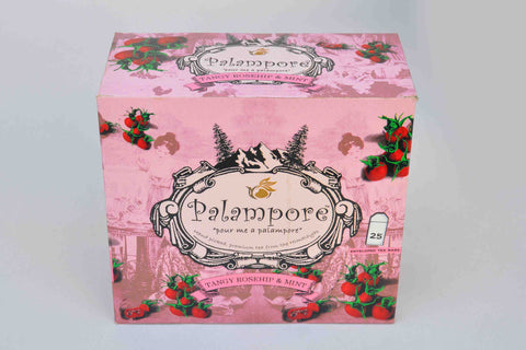 Palampore-Tangy Rosehip and Mint