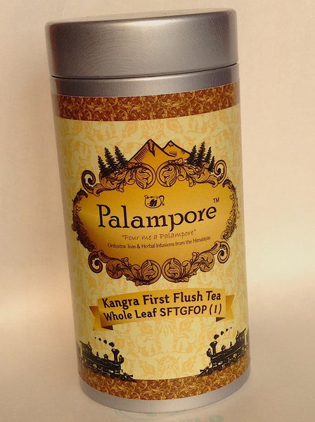 PALAMPORE- Kangra First Flush Whole Leaf Tippy Golden Flowery Orange Pekoe