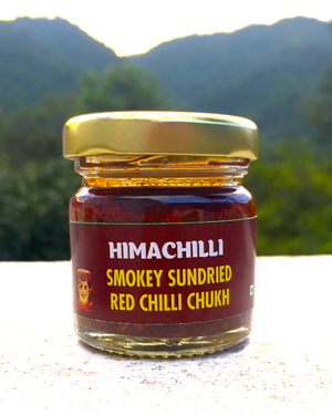 Small-Himachilli Chukh Red Hot Smokey Citrus Chilli Dip & Sauce (Coming Soon)