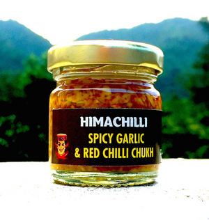 Small-Himachilli Chukh Spicy Garlic Chilli Dip & Cooking Sauce (Coming Soon)