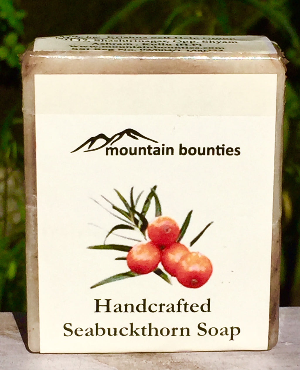 Seabuckthorn herbal soap, cold pressed