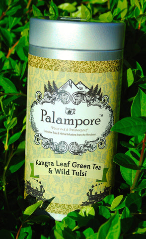 PALAMPORE- Kangra Long Leaf Tea & Wild Tulsi (Basil)