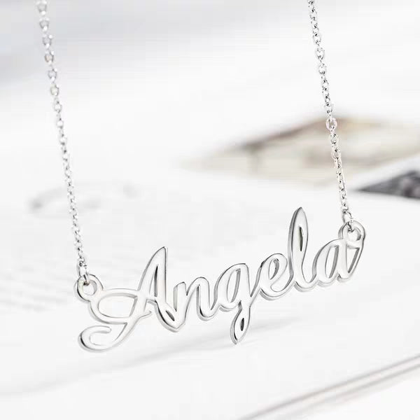 Personalized Custom Necklace | Silver / Gold